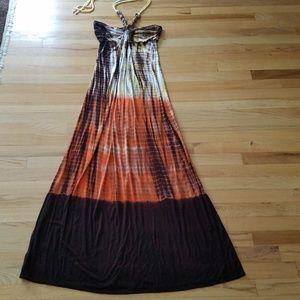 Maxi Halter Dress - Size Small